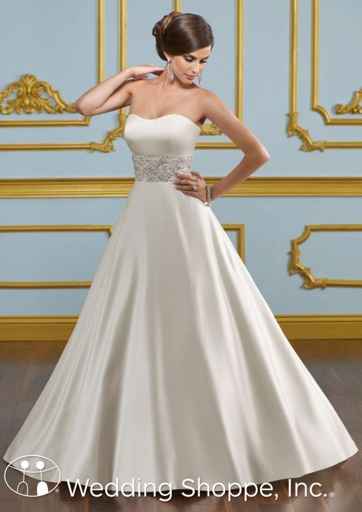 Blu By Mori Lee Bridal Gown for Kate Middleton Wedding Dress