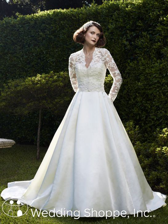 Casablanca Bridal Gown for Kate Middleton Wedding Dress