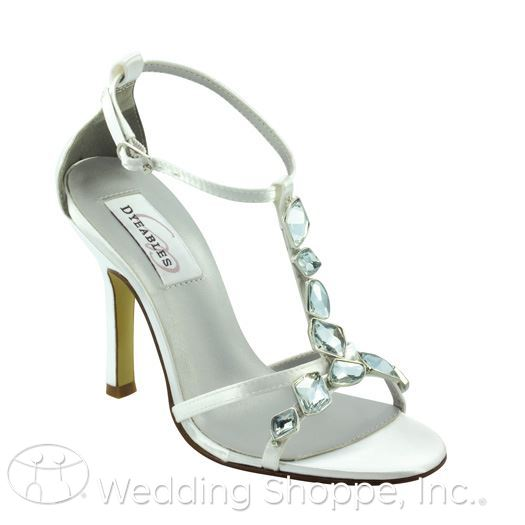 Dyeables Grecian wedding shoes