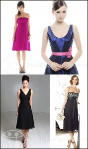 affordable bridesmaid dresses at Wedding Shoppe Inc.