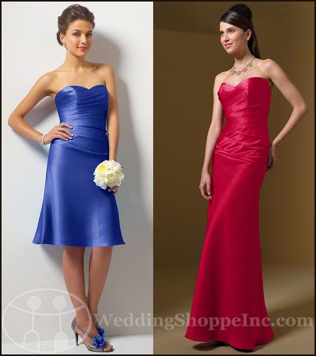 Alfred Angelo 7041 and Alfred Angelo bridesmaid dresses style 7041s