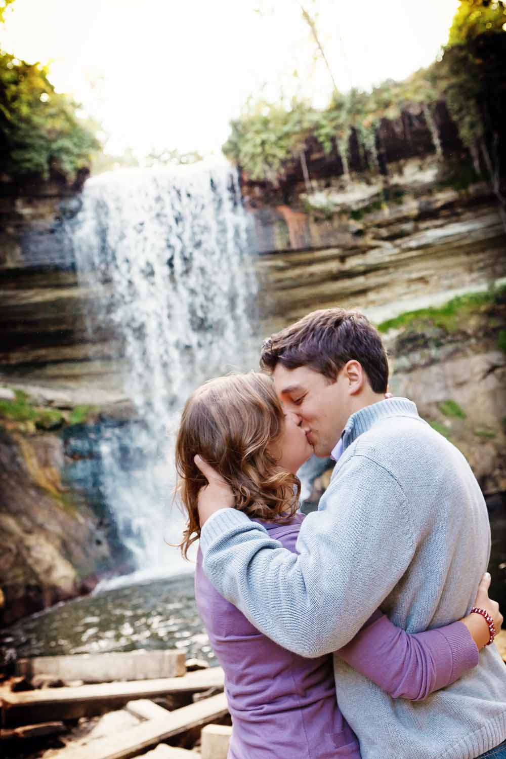 Outdoor Engagement Photo Poses