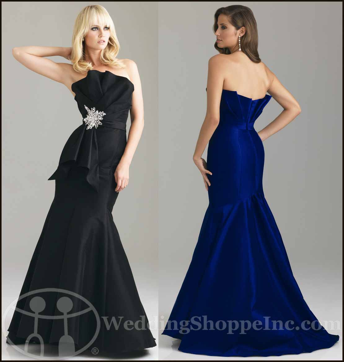 Vintage Prom Dresses: Night Moves by Allure Prom Dress A550