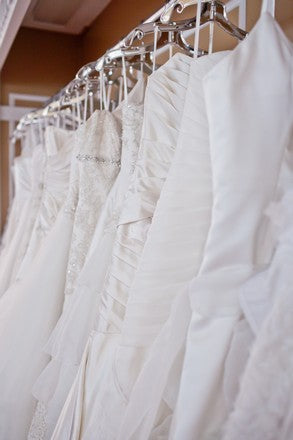 Featured Bride Anna T. finds her dress at Wedding Shoppe Inc.!
