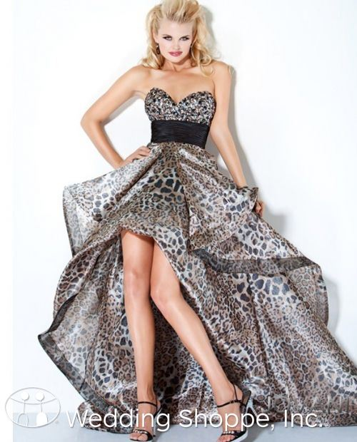 Jovani Leopard prom Dress 172065