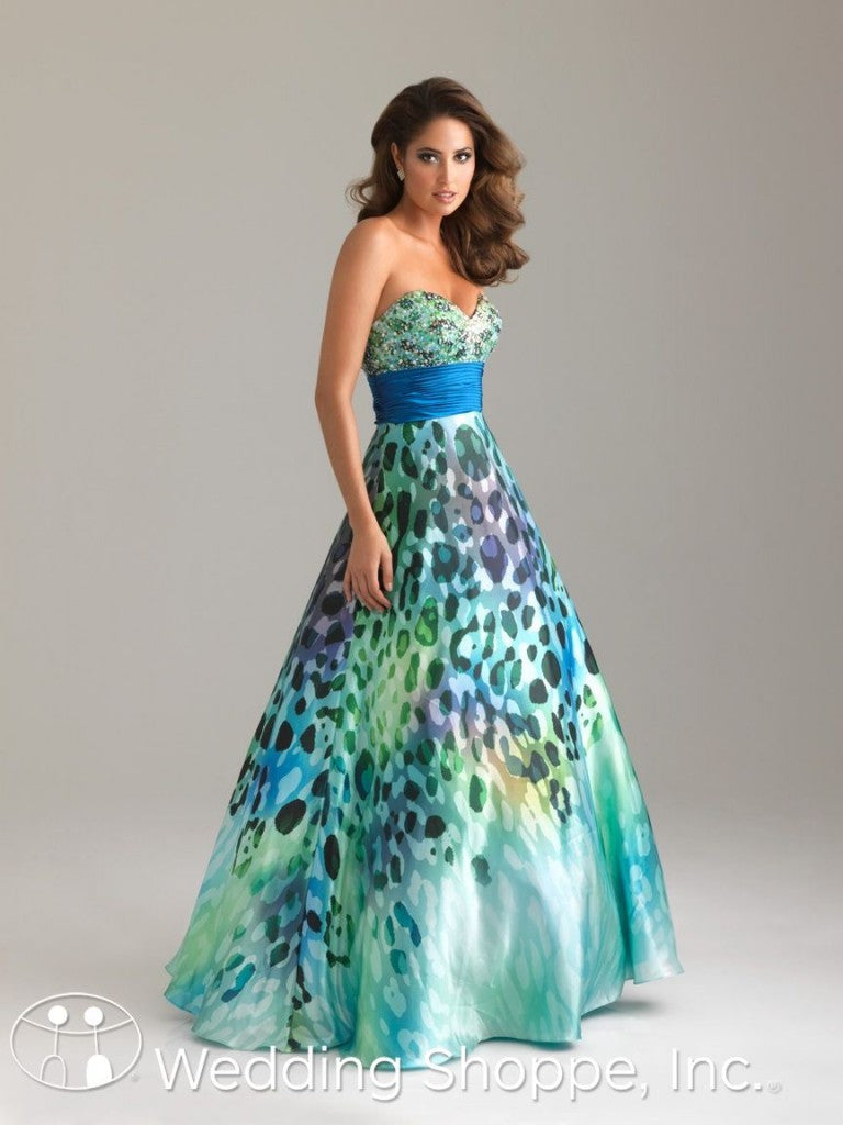 Night Moves Leopard Prom