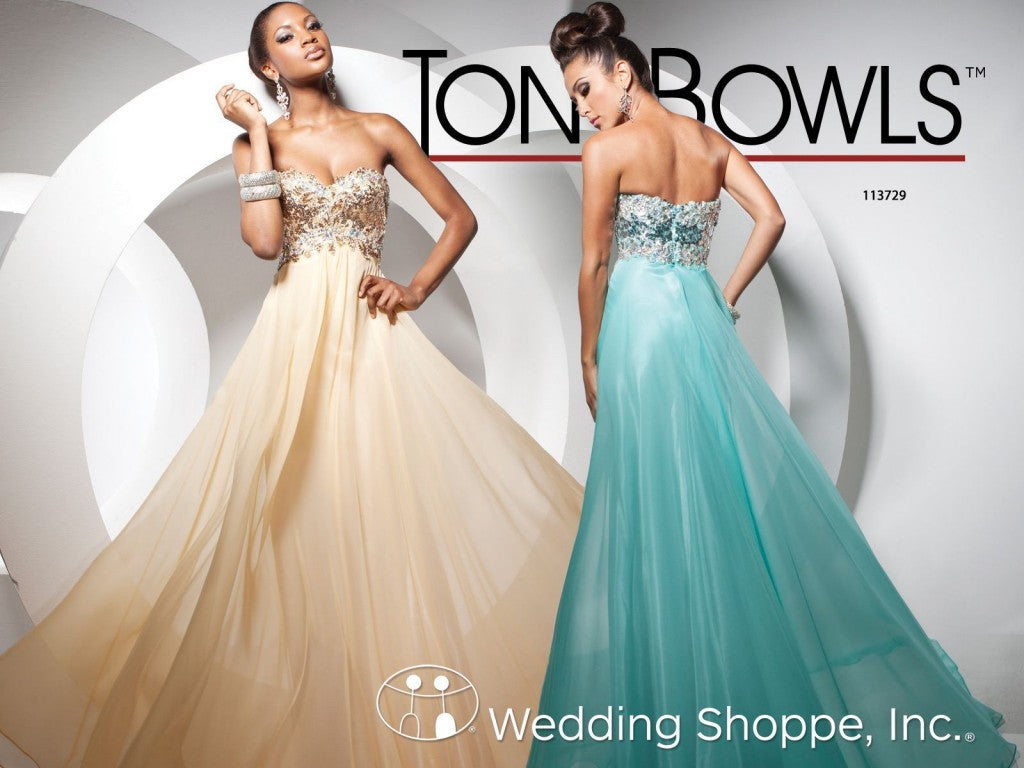 Tony Bowls Exotic Prom Dresses