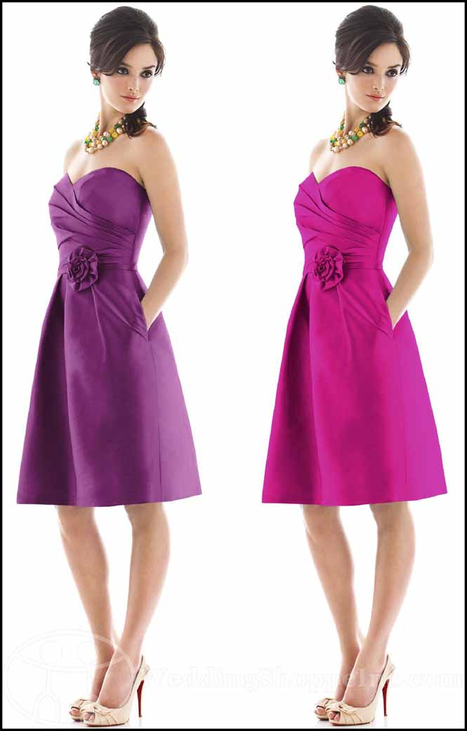 Alfred Sung Bridesmaid Dresses: Alfred Sung D498