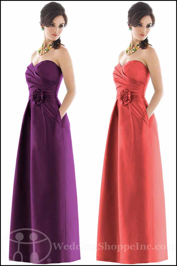 Alfred Sung Bridesmaid Dresses: Alfred Sung D499