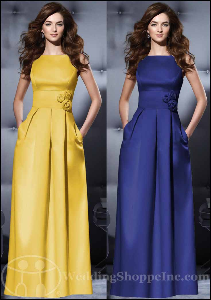 Dessy Bridesmaid Dress 2796