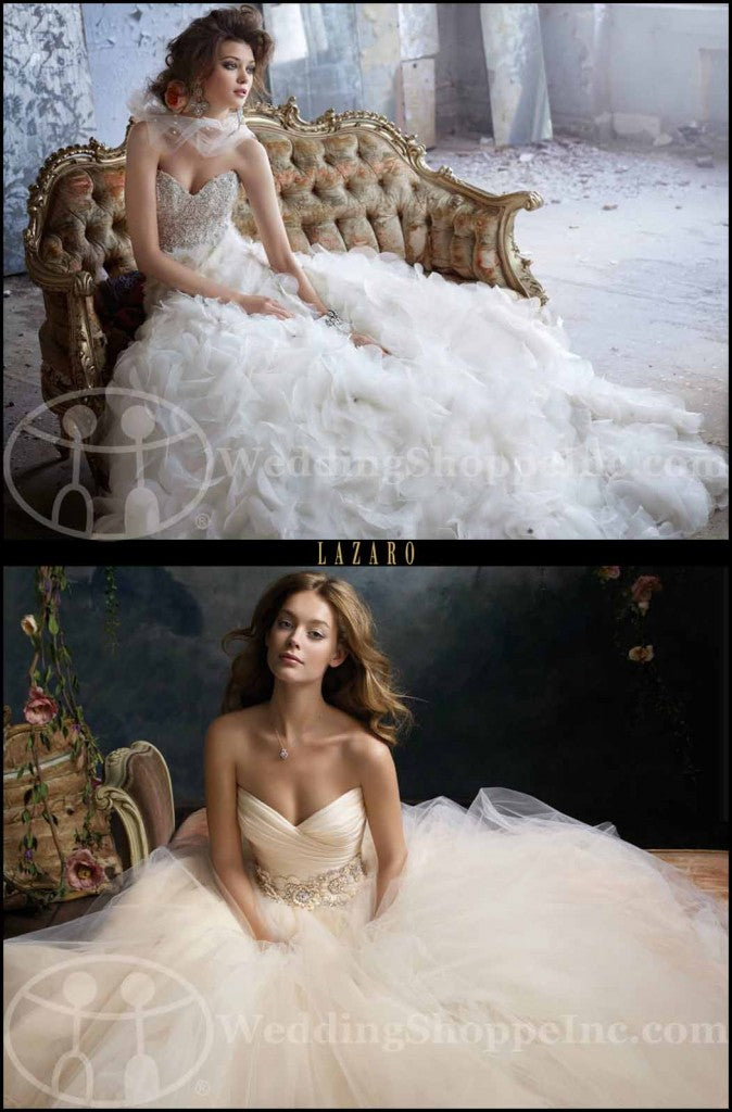 Lazaro Wedding Gowns By Jlm Couture The Ultimate In Bridal