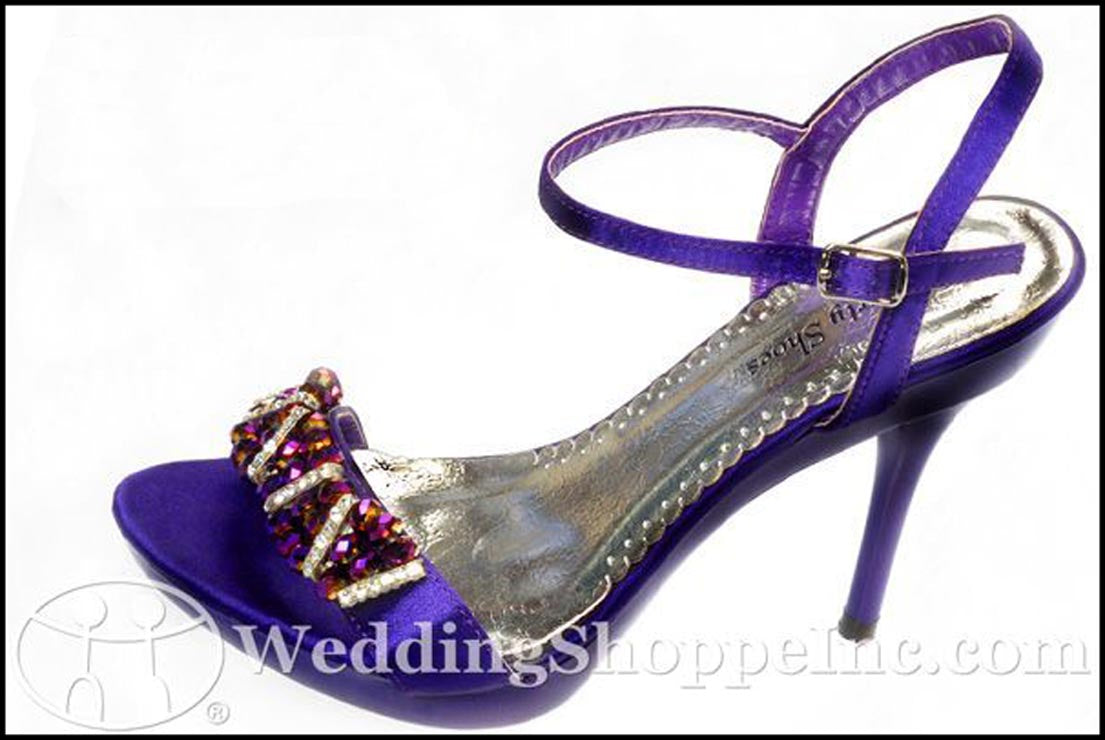 Purple Prom Shoes: Your Party Shoes Frankie