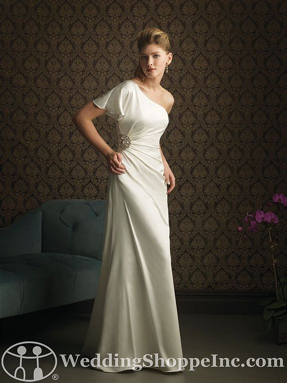 Simple and Chic: Beach Wedding Dresses 2012