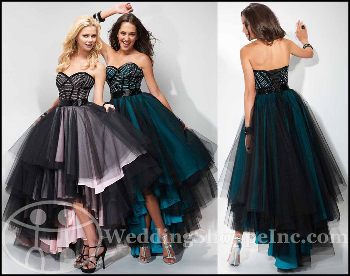 Punk Rock Prom Dresses: Flirt Prom Dress P1607