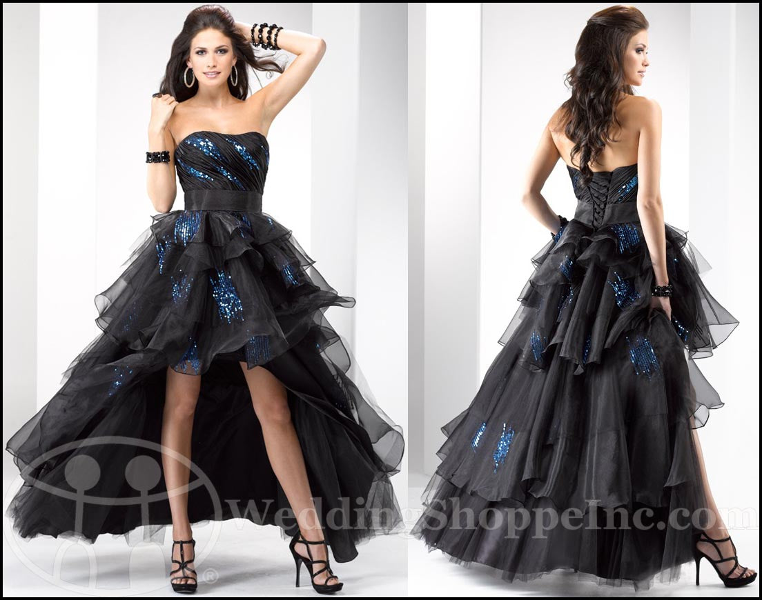 Punk Rock Prom Dresses: Flirt Prom Dress P1683
