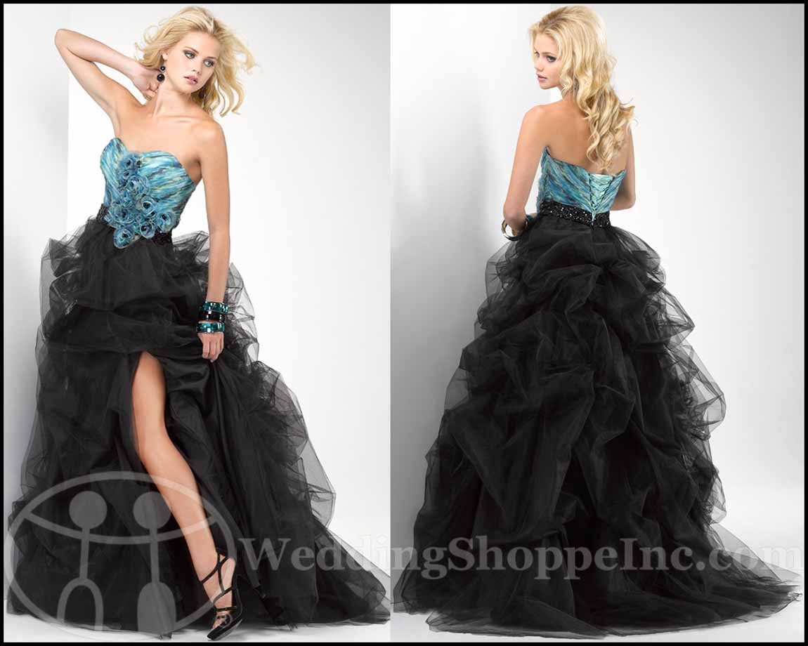 Punk Rock Prom Dresses: Flirt Prom Dress P1690