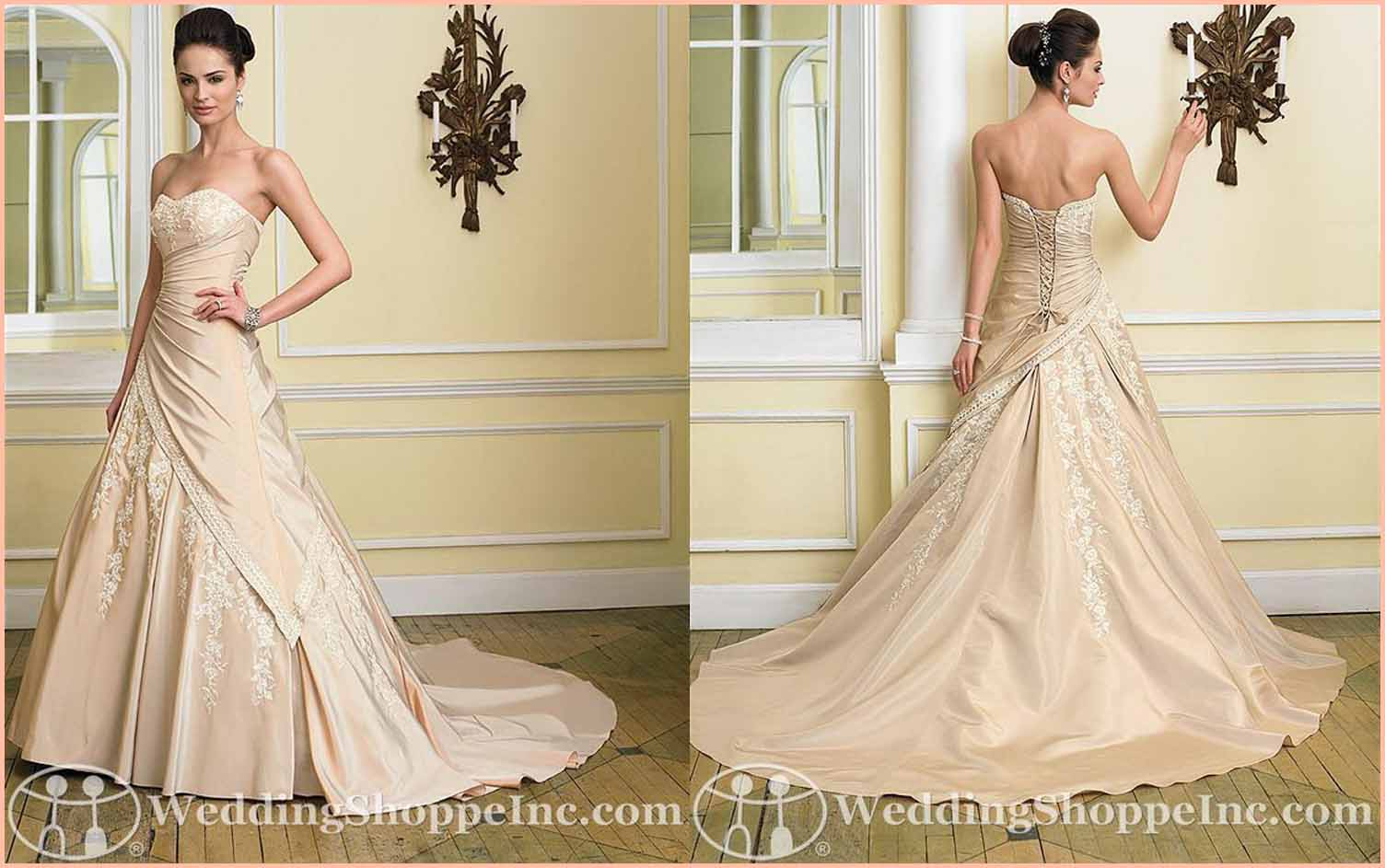 Colored Wedding Gowns: Sophia Tolli Emily