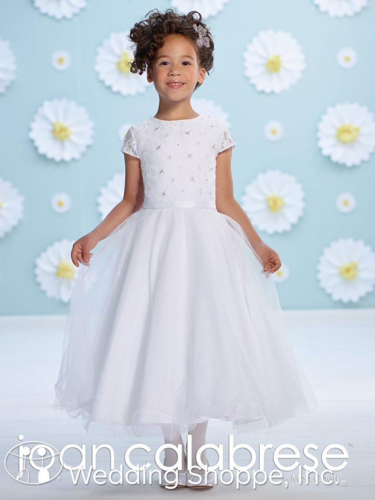 Joan Calabrese Tulle Flower Girl Dress