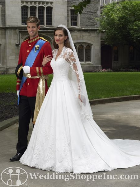 Royal Wedding dress replicas