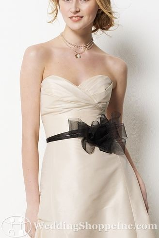 How to Wear Bridal Belts