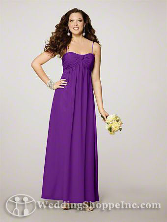 Plus size bridesmaid dresses by alfred angelo