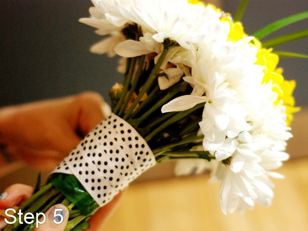 How to Build your own Wedding Bouquet- Step 6