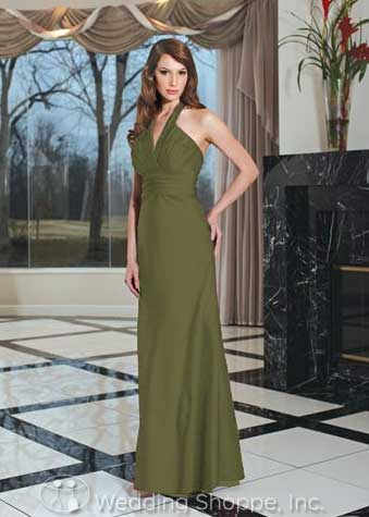 Winter wedding gowns and bridesmaid dresses from Da Vinci