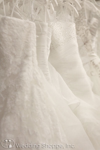 Advice for wedding dress shopping at the Wedding Shoppe