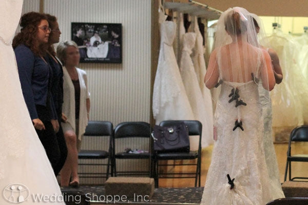 Tips for going wedding dress shopping at the Wedding Shoppe
