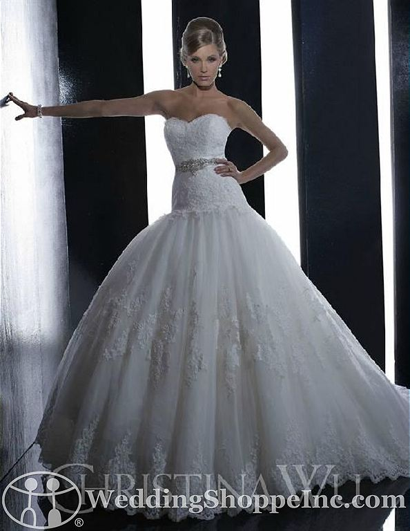 House of Wu wedding dresses: Christina Wu 15508