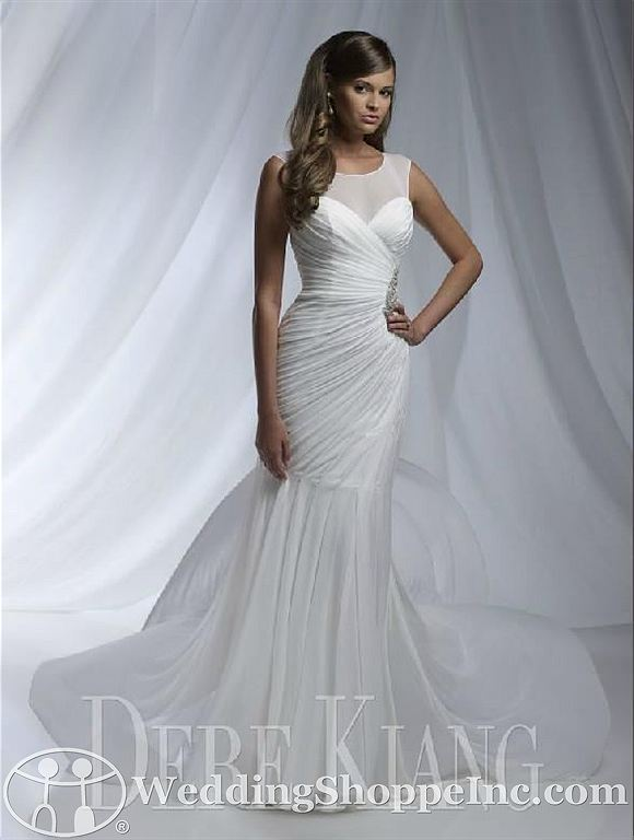 House of Wu wedding dresses: Dere Kiang 11126