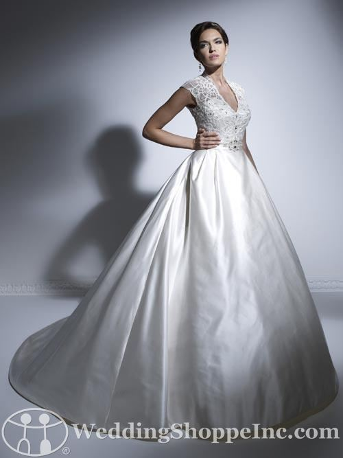 House of Wu wedding dresses: Jacquelin 19911