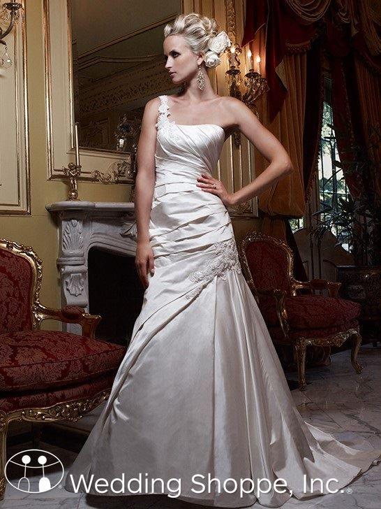 Casablanca Couture Bridal Gown Grecian Style