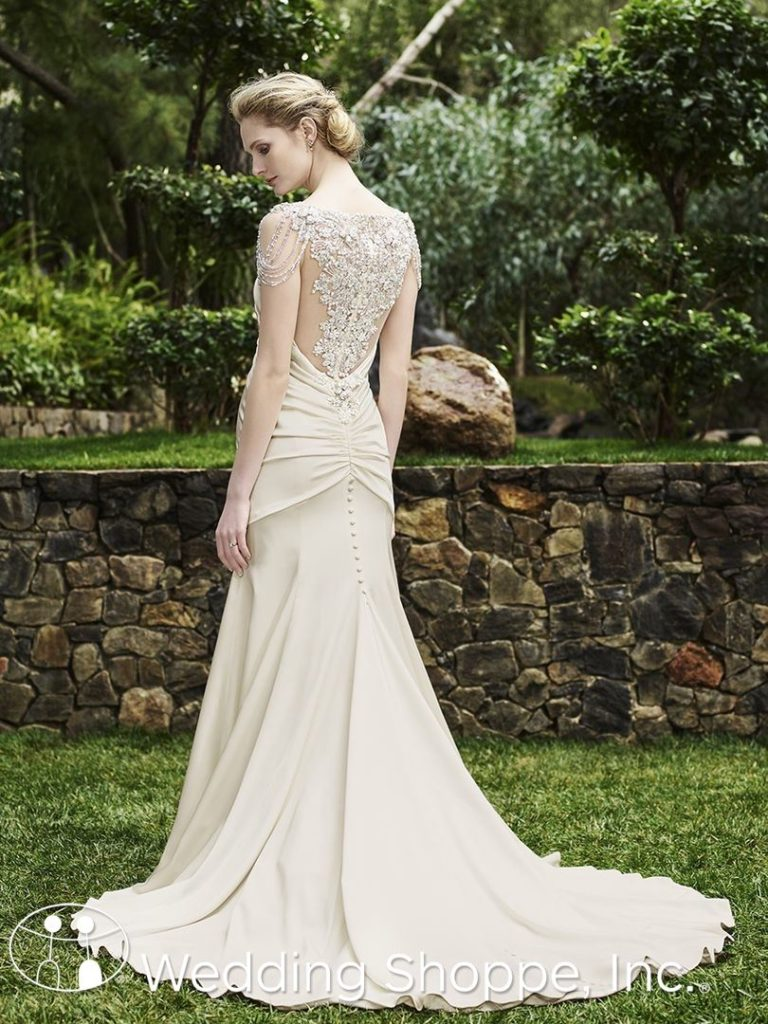 Casablanca Bridal Gown Olive
