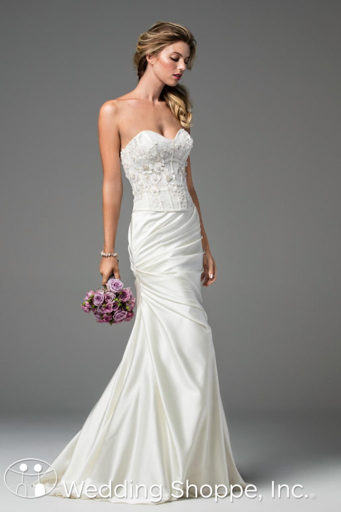 Wtoo Bridal Gown Valentina Grecian Style
