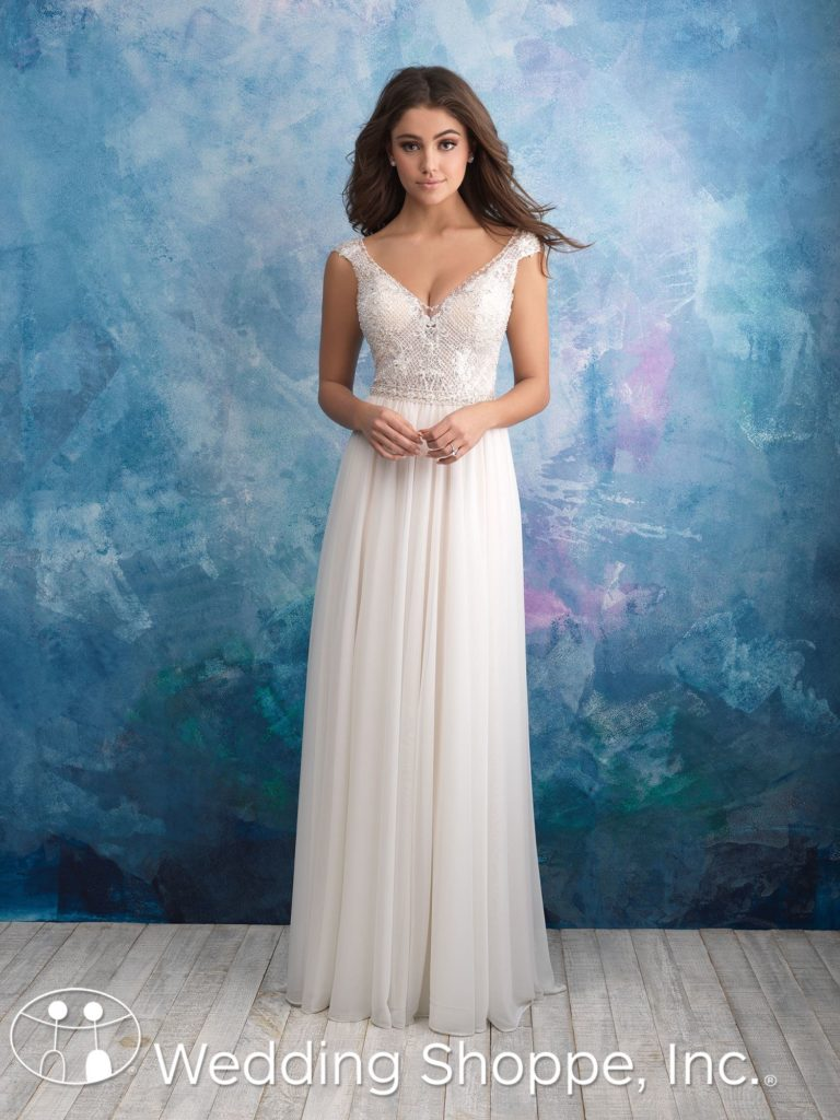 Allure Bridal Gown 9563 Grecian Style