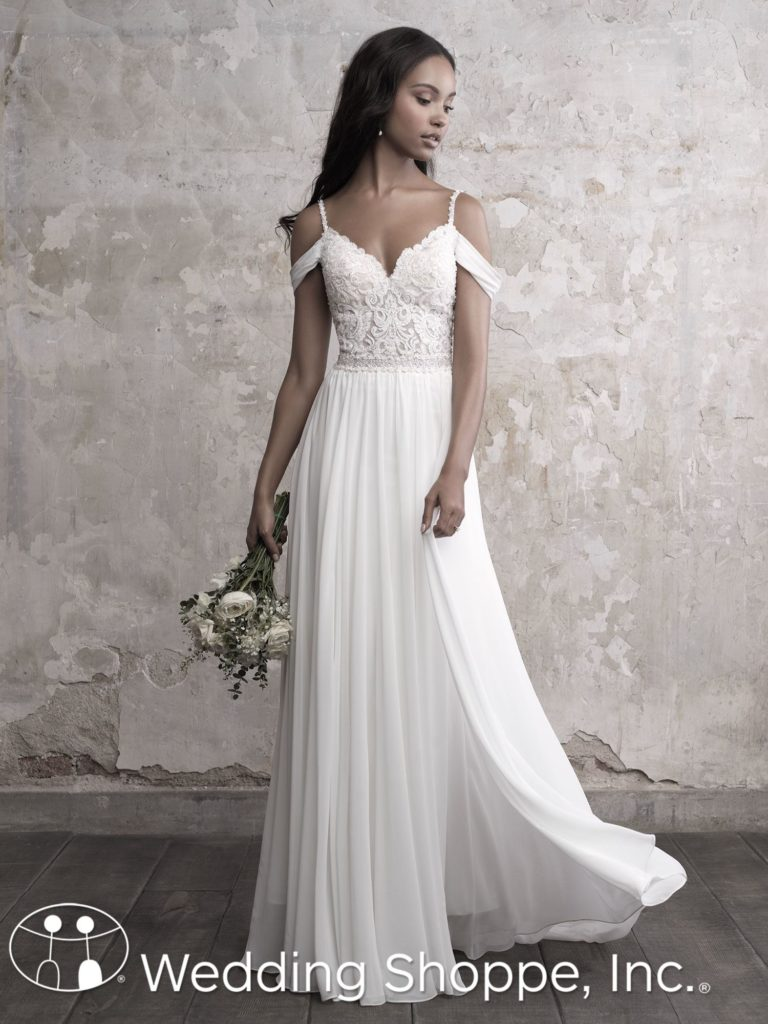 Madison James Bridal Gown Grecian Style