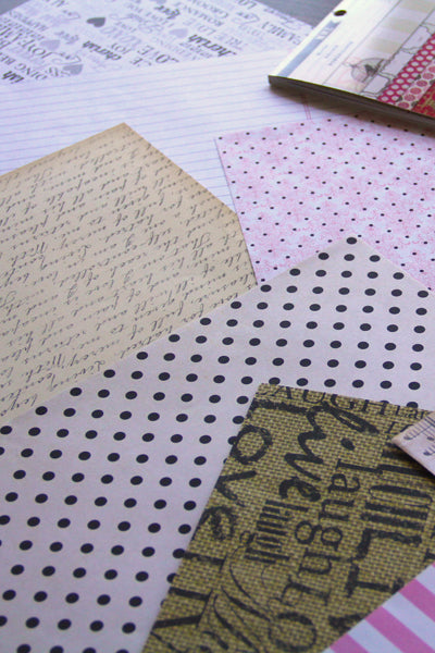 pinterest wedding idea scrapbook paper