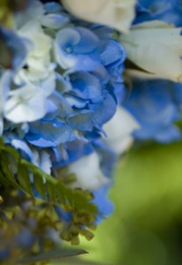 blue flowers or bouquet jewelry