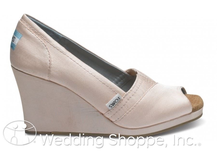 TOMS Bridal Wedge
