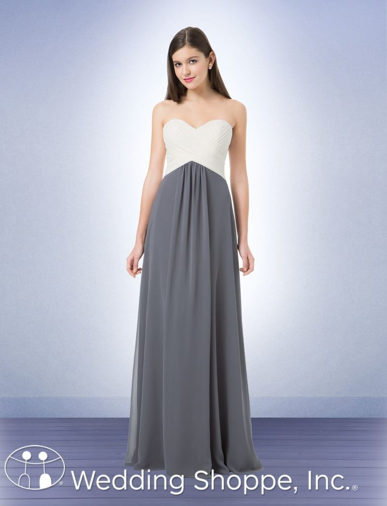 Bill Levkoff Sweetheart Bridesmaid Dress