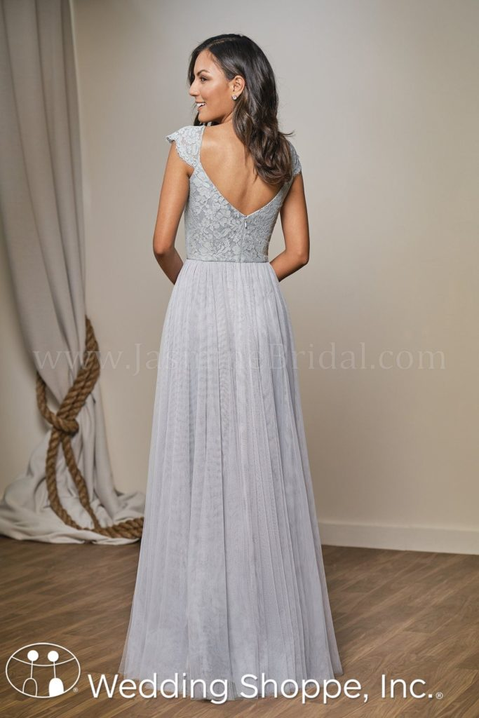 Lace and Tulle Belsoie Bridesmaid Dress
