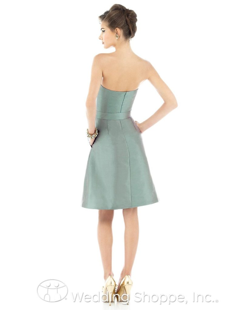 Sweetheart Neckline Bridesmaid Dress Alfred Sung