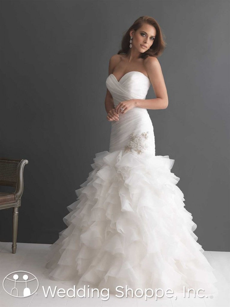 Allure Bridal 2654 Ruffles