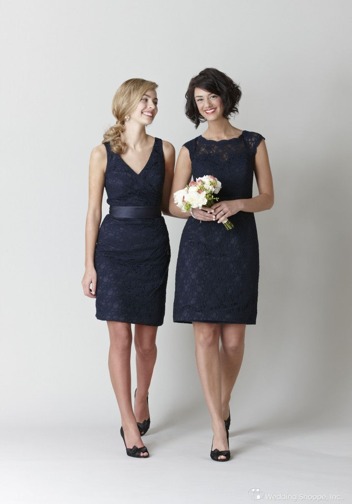 Kennedy Blue Navy Lace Dresses