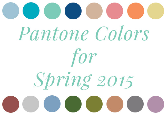 pantone colors for spring 2015