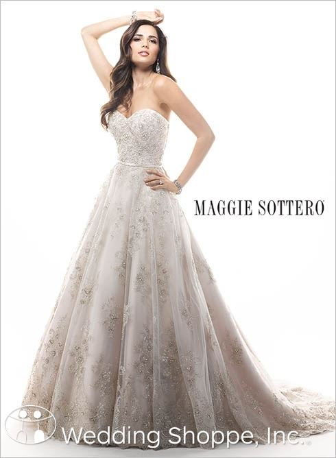 Princess Bridal Gown Maggie Sottero Hannah