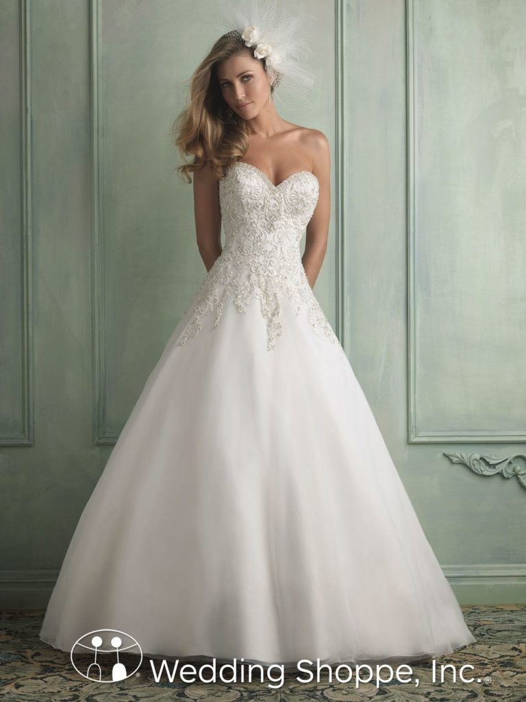 Princess Bridal Gown Allure 9120