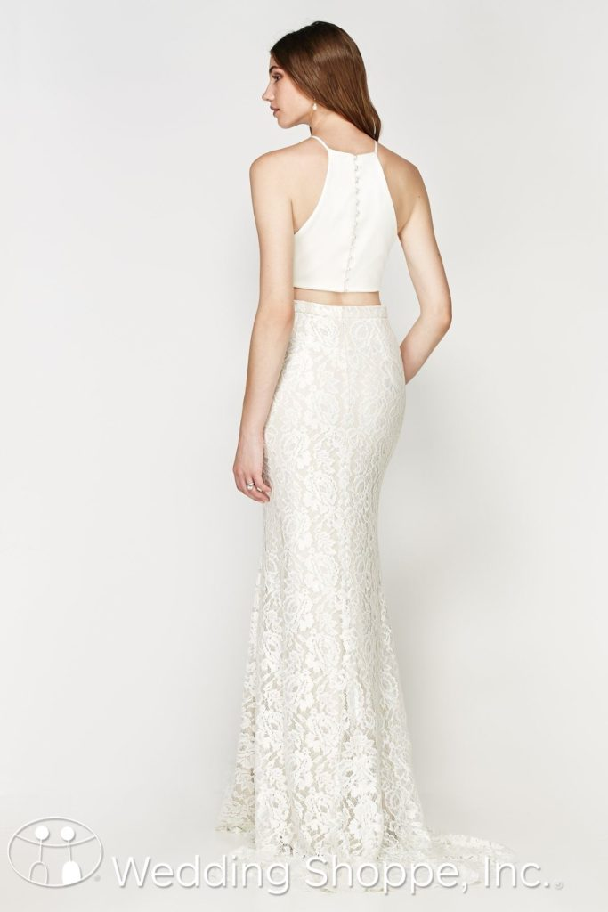 2-Piece Lace Bridal Gown Willowby By Watters