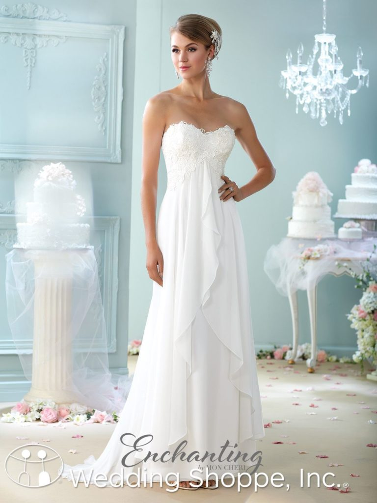 Lace Bridal Gown Enchanting by Mori Lee